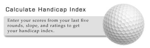 Calculate Your Handicap Index